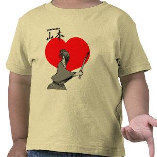 yamamoto oye al samurai camisetas