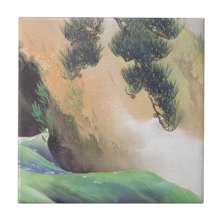Yamamoto Shunkyo - primavera de la montaña Azulejo Ceramica