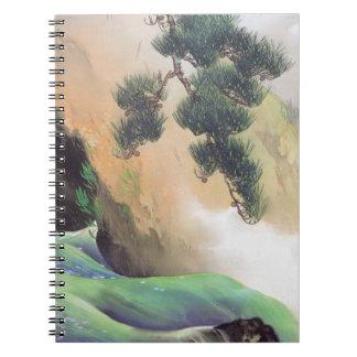 Yamamoto Shunkyo - primavera de la montaña Libro De Apuntes