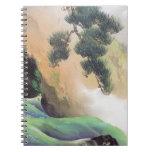 Yamamoto Shunkyo - Spring of Mountain Spiral Note Book