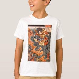 Yamamoto Takeru no Mikoto between burning grass T-Shirt