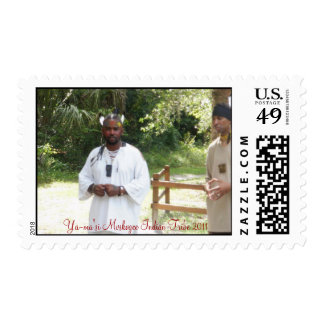 Yamasee Muskogee Indian Tribe Postage
