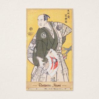 Yamashina Shirojuro in  Role of Nagoya Sanzaemon Business Card