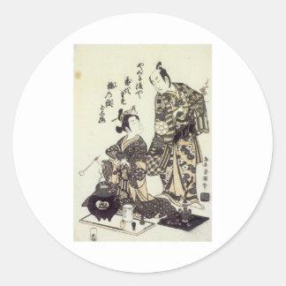 Yamashita & Nakaura Kiyohiro 1755 Art Prints Sticker