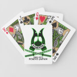Yamato High School Japan Bicycle Playing Cards