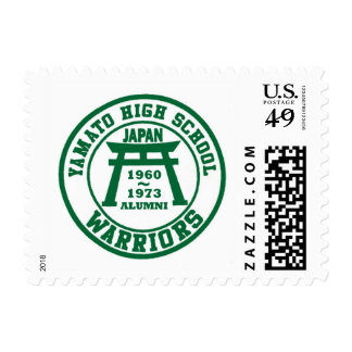 yamato high school warriors postage postage stamp