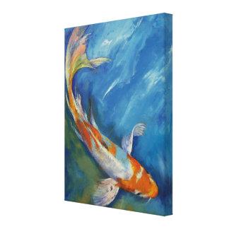 Yamato Nishiki Koi Canvas Prints