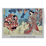 Yamauba al kaidomaru por Utagawa, Toyokuni Ukiyoe Felicitación