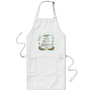 Yamburger-Pie Recipe Designed Adult Long Apron