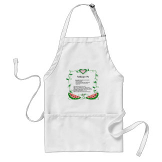 Yamburger-Pie Recipe Designed Adult Standard Apron