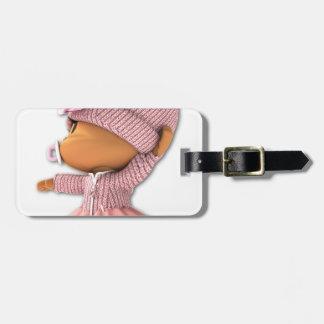 Yamchi Ballerina Luggage Tag