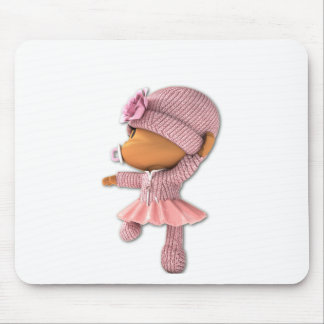 Yamchi Ballerina Mouse Pad
