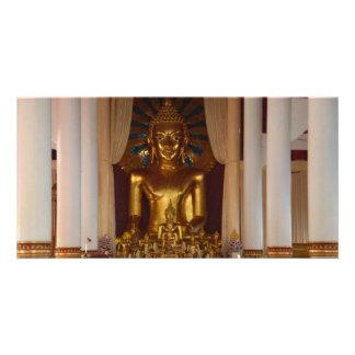 Yamdran buddha poster personalized photo card