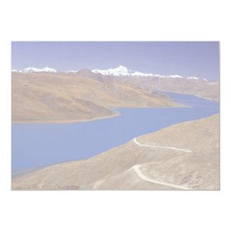 Yamdrok Yamtso, the turquoise lake, Tibet 5x7 Paper Invitation Card