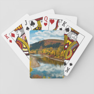 Yampa River In Autumn Poker Cards