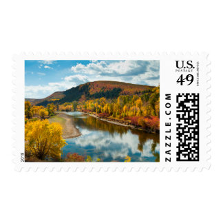 Yampa River In Autumn Postage