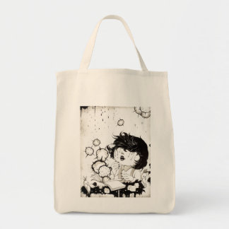 Yan Wei | 闫威 Grocery Tote Bag