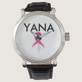 YANA Breast Cancer Awareness Wristwatch