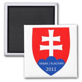 Yanak/Klachan Magnet Square