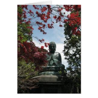 Yanaka-Buda-Keigo-NY Tarjeta Pequeña
