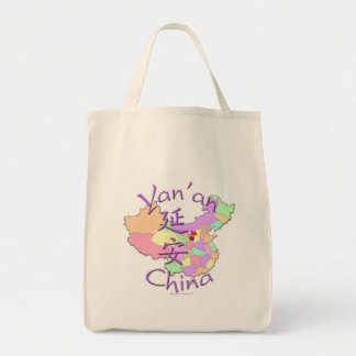 Yan'an China Tote Bags