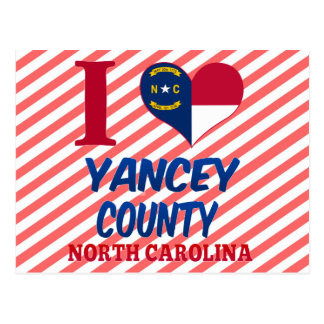 Yancey County, North Carolina Post Card