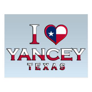 Yancey, Texas Postcards