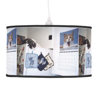 Yancy And The Calendar Cat Ceiling Lamp