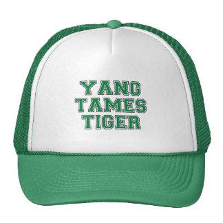 Yang domestica el tigre gorras de camionero