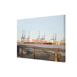 Yang Ming And MSC Container Ships Canvas
