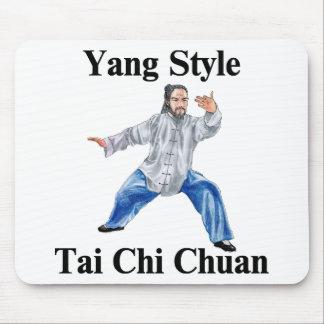 Yang Style Tai Chi Chuan Mousepad