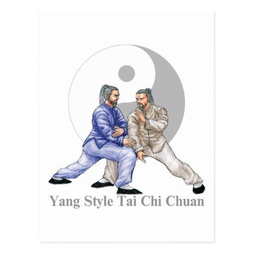 Yang Style T'ai Chi Ch'uan Postcard
