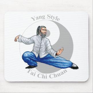 Yang Style Tai Chi Mouse Pad