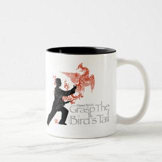 Yang Tai Chi 'Fire Phoenix' Ceramic Two Tone Mug