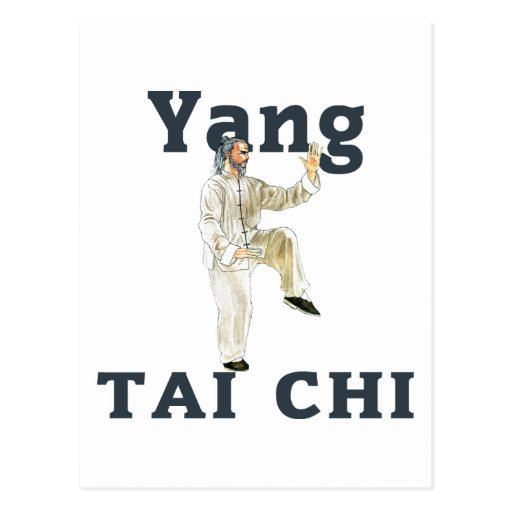Yang Tai Chi Postcard