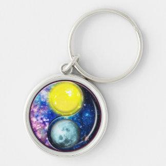 Yang-Yin / Sun-Moon Keychain