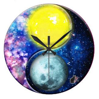Yang-Yin / Sun-Moon Large Clock