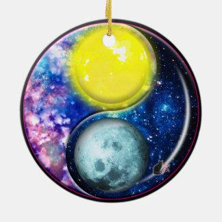 Yang-Yin / Sun-Moon Ornament