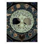 yang ying con símbolos religiosos