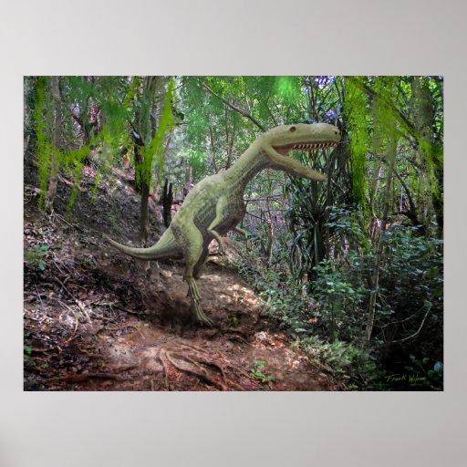 ~ Yangchuanosaurus del poster en selva