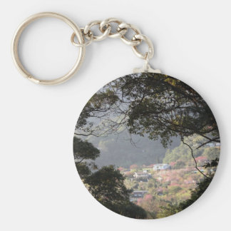 Yangmingshan National Park, Taipei County, Taiwan Basic Round Button Keychain