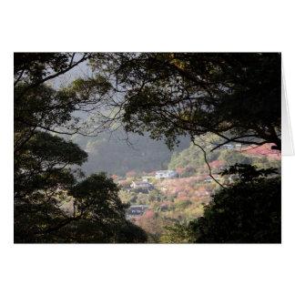Yangmingshan National Park, Taipei County, Taiwan Greeting Card