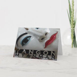 Myanmar cards zazzle yangon holiday card stopboris Choice Image