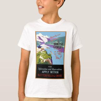 Yangtsze Yangtze River Gorges Vintage Travel Art T-Shirt