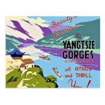 Yangtze Gorges China Postcard