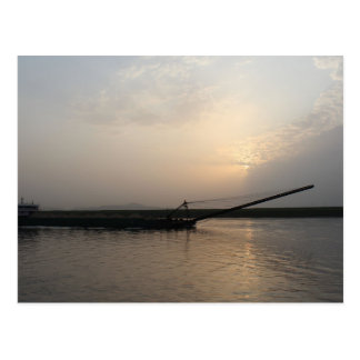 Yangtze River Boat Postcard