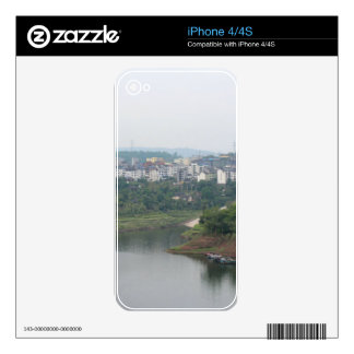 Yangtze River Decals For iPhone 4