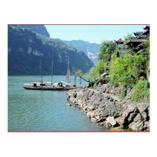 Yangtze River Postcard