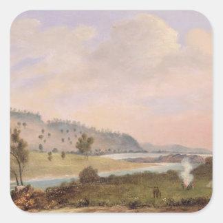 Yankallilah, Nuevo Gales del Sur Pegatina Cuadrada