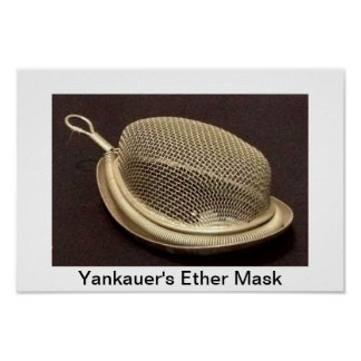 Yankauer's Ether Mask Poster